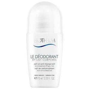 Biotherm Biotherm Lait Corporel Le Deodorant 48h antyperspirant roll-on 75ml