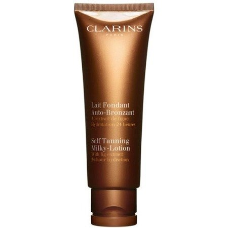 Clarins Milky Lotion Bronze Self Tanning For Face And Body Mleczko samoopalające 125 ml
