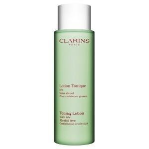 Clarins Toning Lotion With Iris Tonik do demakijażu do cery mieszanej i tłustej 400ml