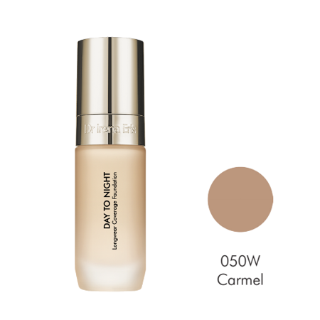 Dr Irena Eris Day To Night Longwear Coverage Foundation 24h, 050W Caramel, 30ml - Podkład do twarzy