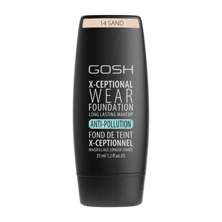 Gosh X-Ceptional Wear Make-Up Nr 14 Sand Podkład kryjący 35 ml