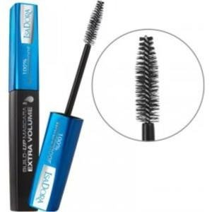 IsaDora Build-Up Mascara Extra Volume 100% Waterfproof  20 Black- wodoodporny tusz do rzęs 12ml czarny  +  [  G  R  A  T  I  S : MINI-MASKARA ISADORA ]