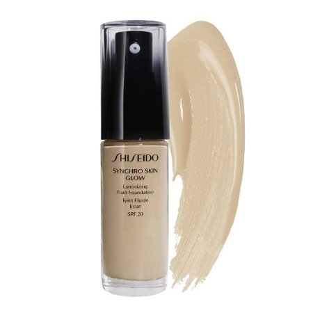 Shiseido Synchro Skin Foundation Glow Luminizing Fluid Foundation Golden 4 podkład 30ml